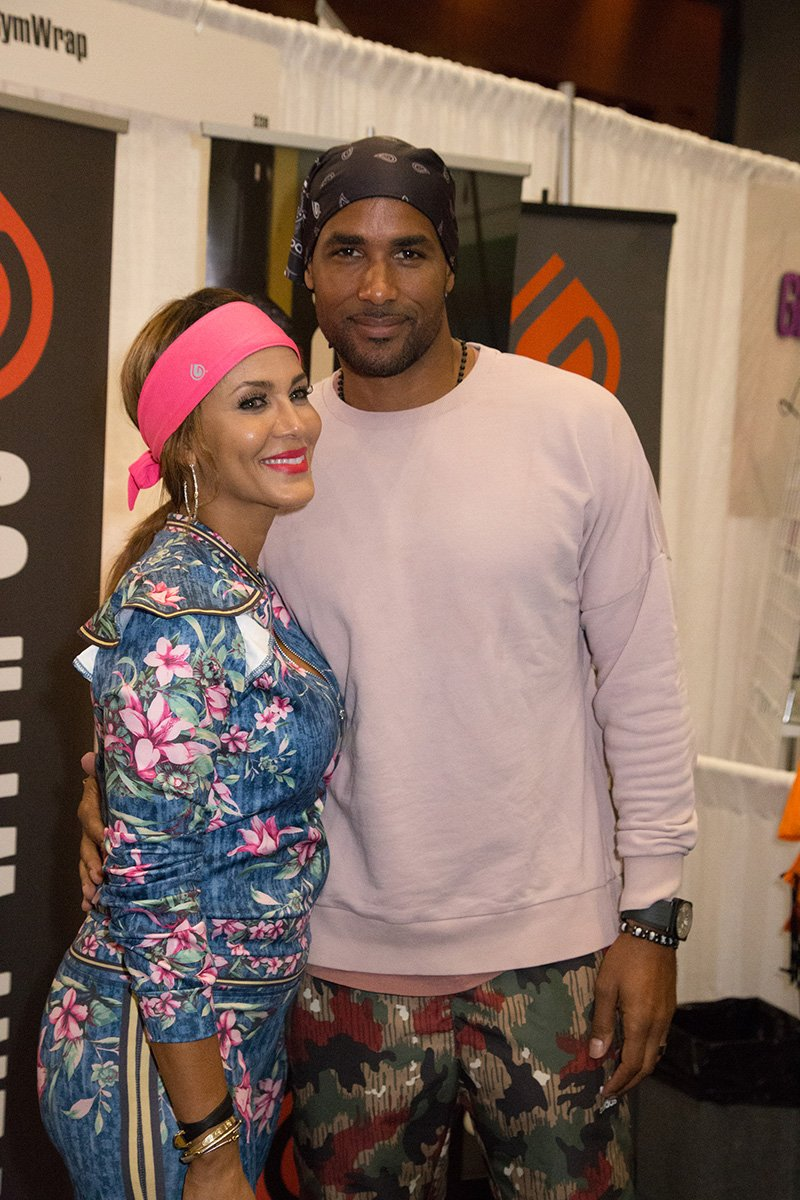 Nicole Ari Parker and Boris Kodjoe attend the 2018 Ubiquitous Hair & Beauty Expo at Walter E. Washington Convention Center on August 25, 2018 in Washington, DC. I Image: Getty Images.