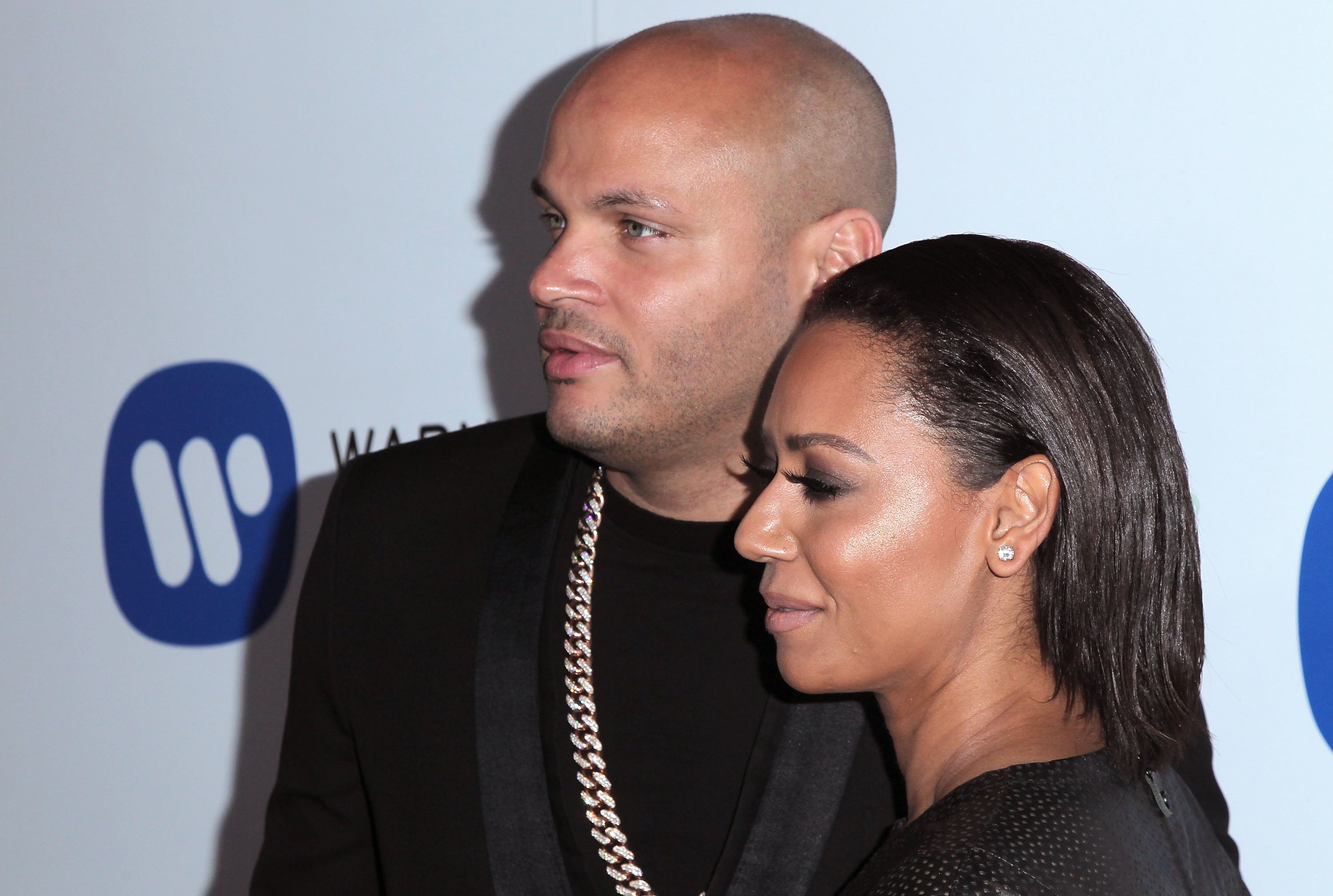 Mel B and her ex-husband Stephen Belafonte attending a Grammy celebration in February 2015. | Photo: Getty Images