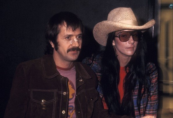Sonny Bono and Cher arrive for taping of 'The Sonny & Cher Comedy Hour' | Photo: Getty Images