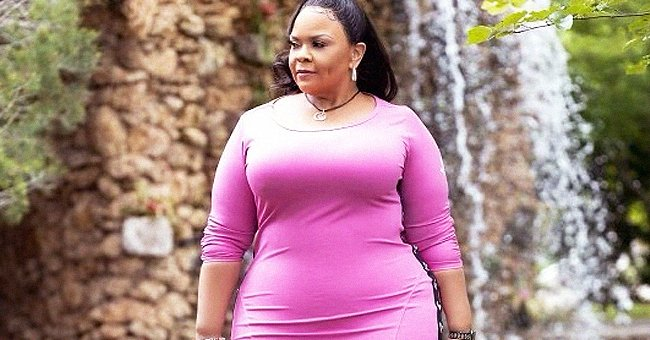 Tamela Mann Flaunts Her Figure in a Body-Hugging Pink Dress in a New Photo