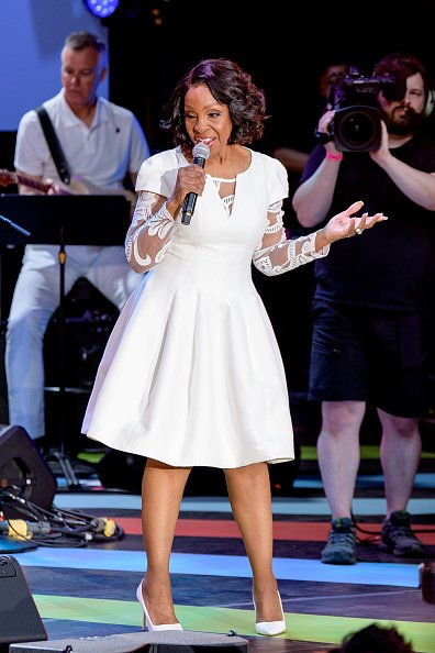 Gladys Knight at Marcus Garvey Park in Harlem on June 19, 2021 in New York City. | Photo: Getty Images
