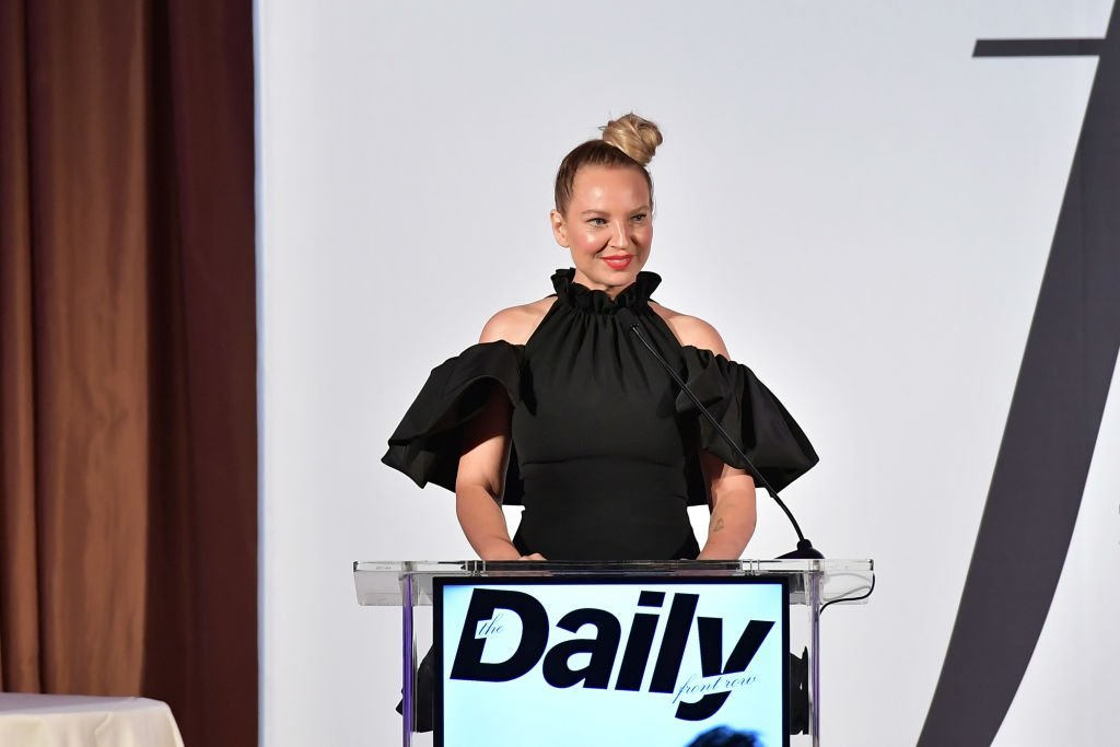 Sia speaks onstage duing The Daily Front Row Fashion LA Awards 2019.  | Source: Getty Images