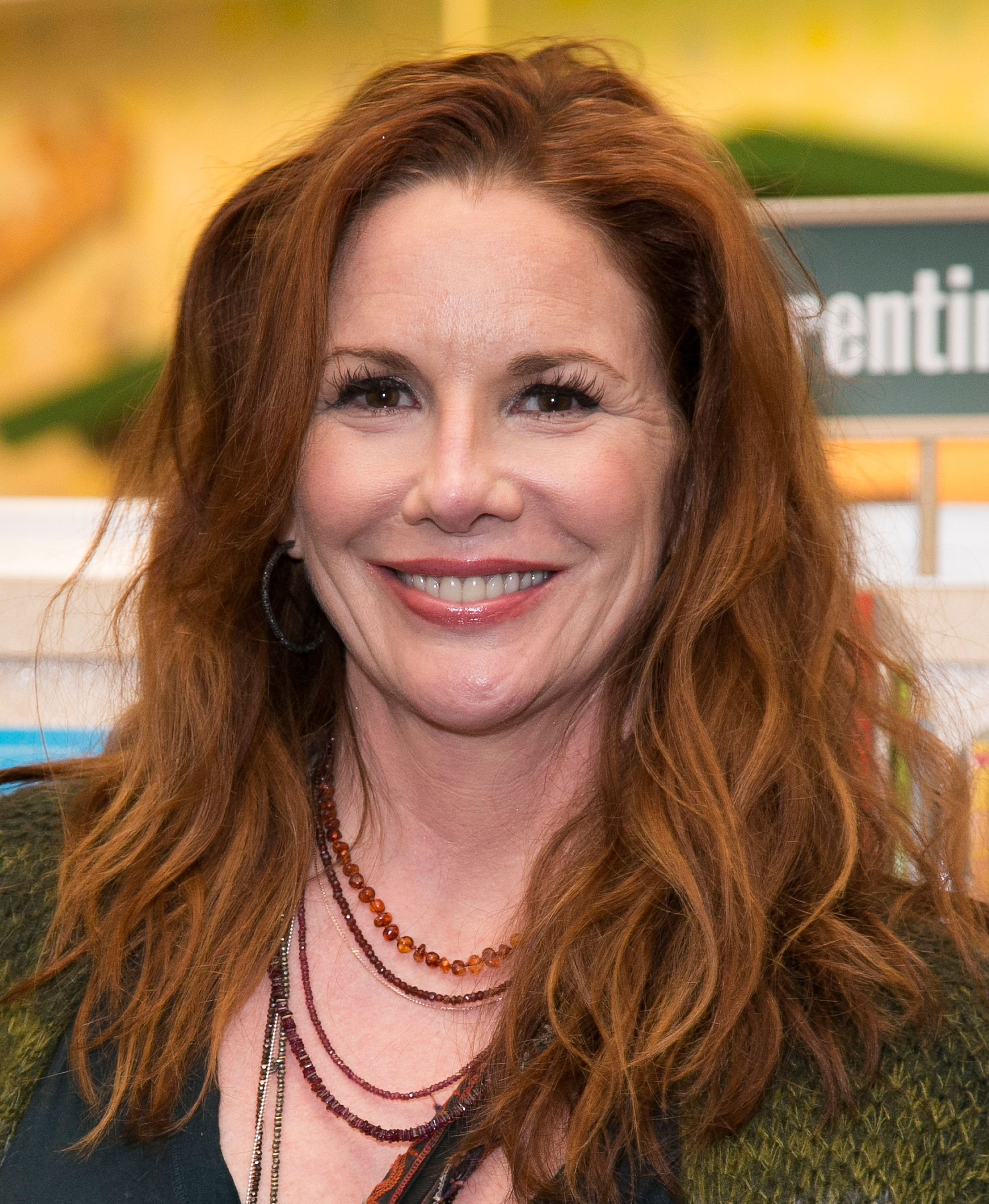 """Actress Melissa Gilbert signs and discusses her new book """"My Prairie Cookbook"""" at Barnes & Noble bookstore at The Grove on March 18, 2015 in Los Angeles, California. 
