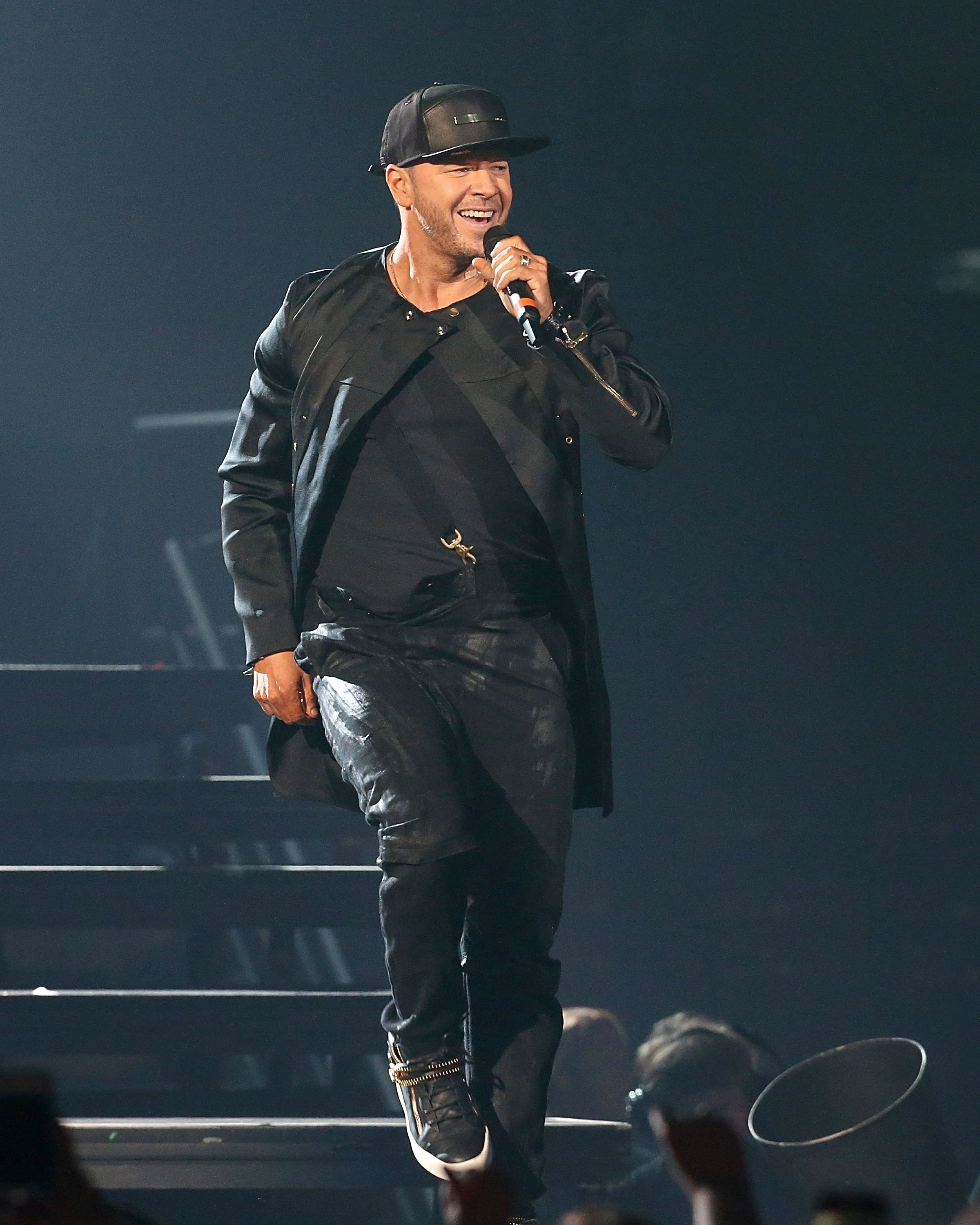 Donnie Wahlberg performs in concert during the Total Package Tour at The Frank Erwin Center in Austin, Texas on May 21, 2017   Photo: Getty Images
