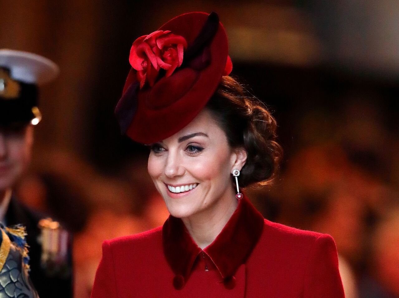 Kate Middleton attends the Commonwealth Day Service 2020 at Westminster Abbey.   Source: Getty Images