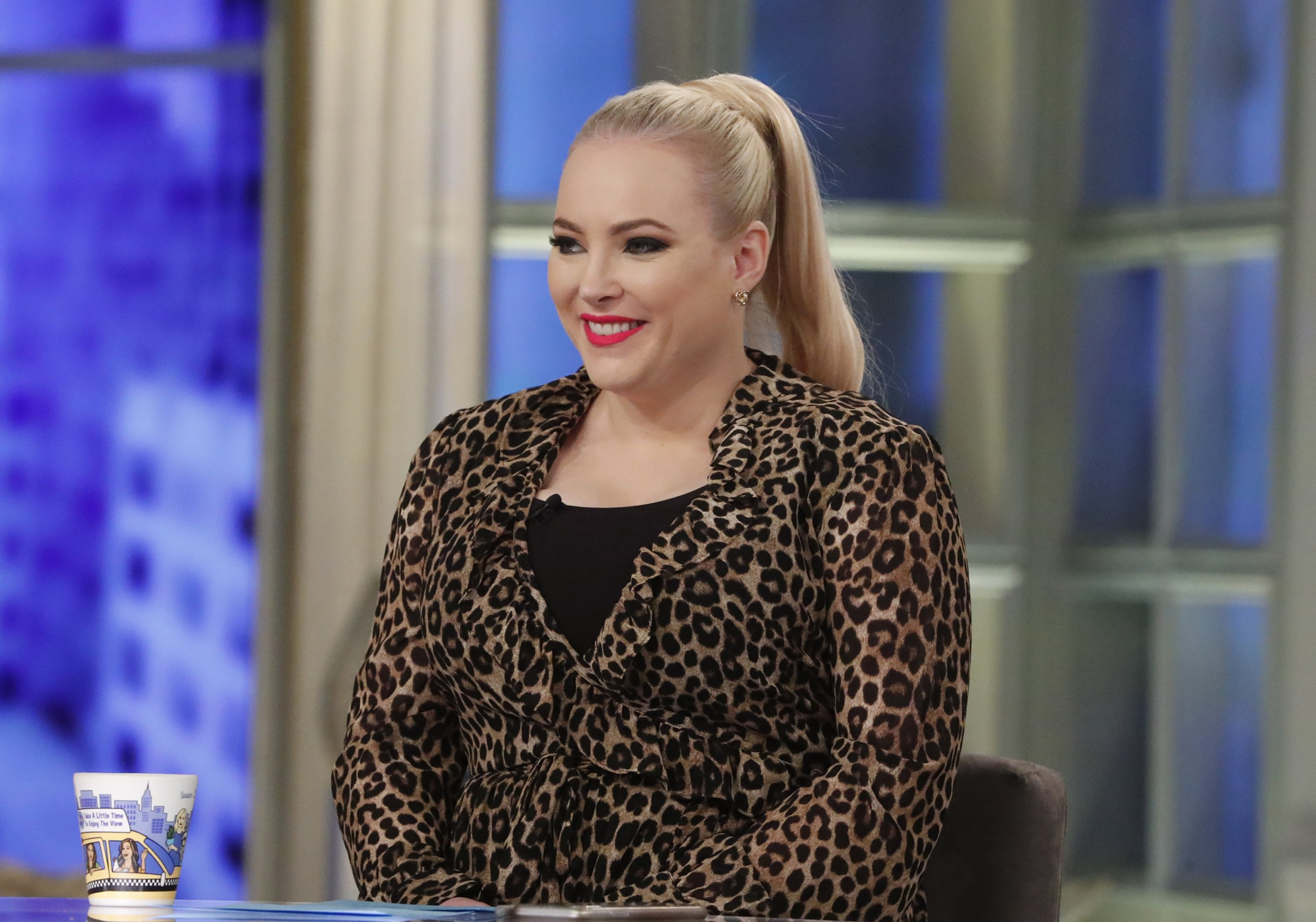 Meghan McCain in The View. | Photo: Getty Images
