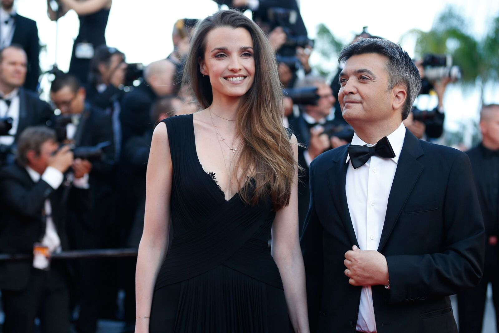 "Céline Bosquet et Thomas Langmann assistent à la première de ""From The Land Of The Moon (Mal De Pierres)"" lors du 69ème Festival du Film de Cannes au Palais des Festivals le 15 mai 2016 à Cannes, France. 
