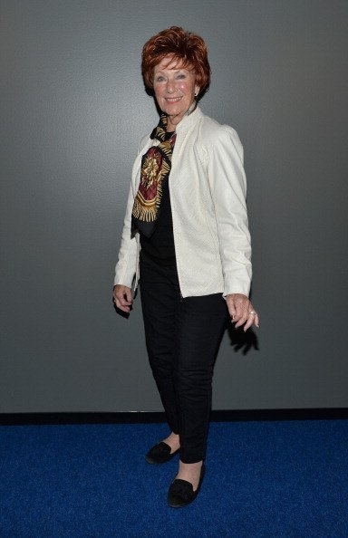 """Marion Ross attends a screening of the film """"Elaine Stritch: Shoot Me"""" on March 5, 2014, in Los Angeles, California. 