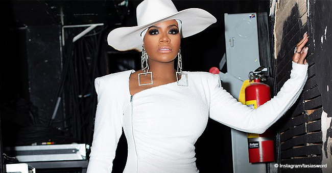 Fantasia Rocks White from Head to Toe in New Photo