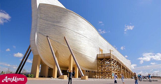 Take a peek inside the amazing full-scale Noah's Ark in Kentucky