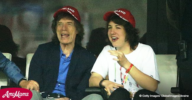 Mick Jagger posts 'dorky dad' comments on son's Instagram photos