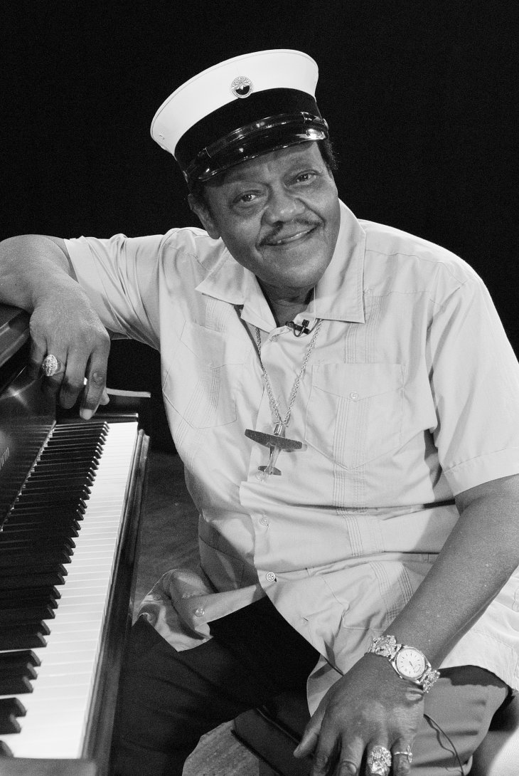 Fats Domino photographed in New Orleans in 2007. | Photo: Shutterstock