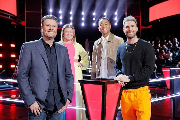 """The Voice"" season 16 judges on the show.