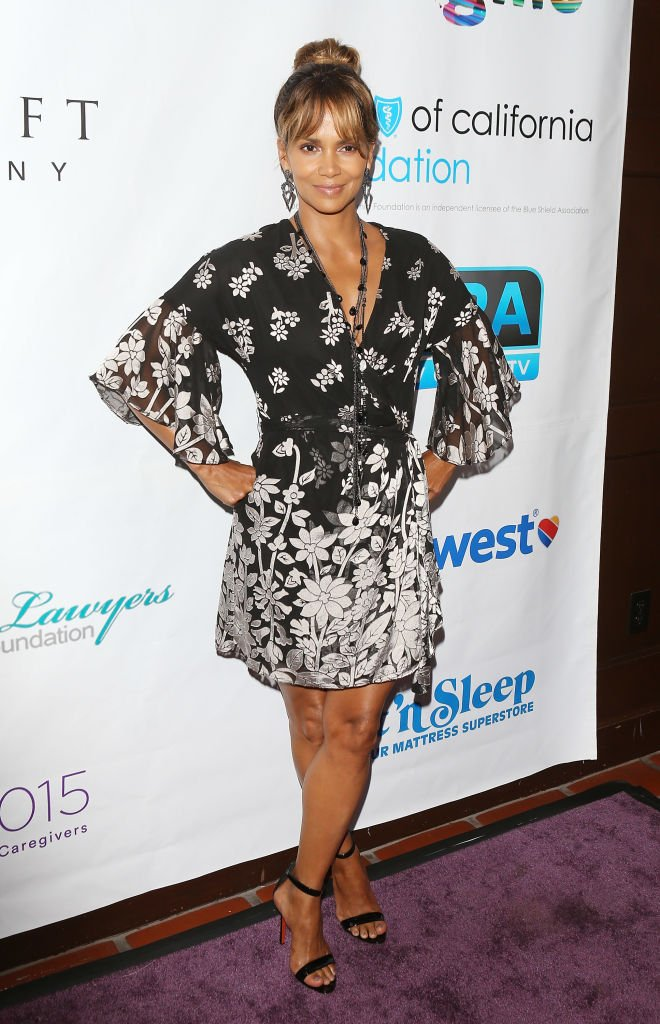 Halle Berry at the 2018 Imagine cocktail party to benefit Jenesse Center at Wilshire Country Club on June 27, 2018 | Photo: Getty Images