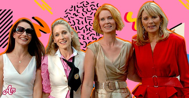 """The woman of the """"Sex And The City"""" posing together   Photo: Getty Images and Shutterstock"""
