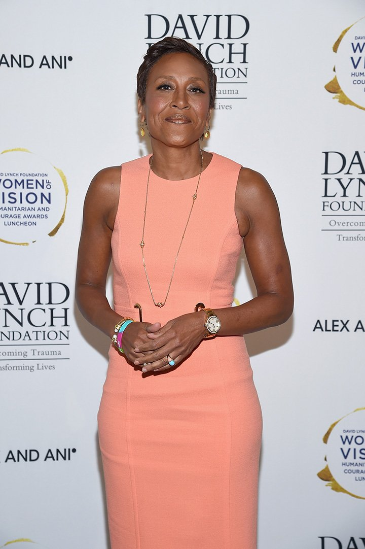 Robin Roberts attends David Lynch Foundation Hosts Women of Vision Awards at 583 Park Avenue on May 9, 2017 in New York City. I Image: Getty Images.