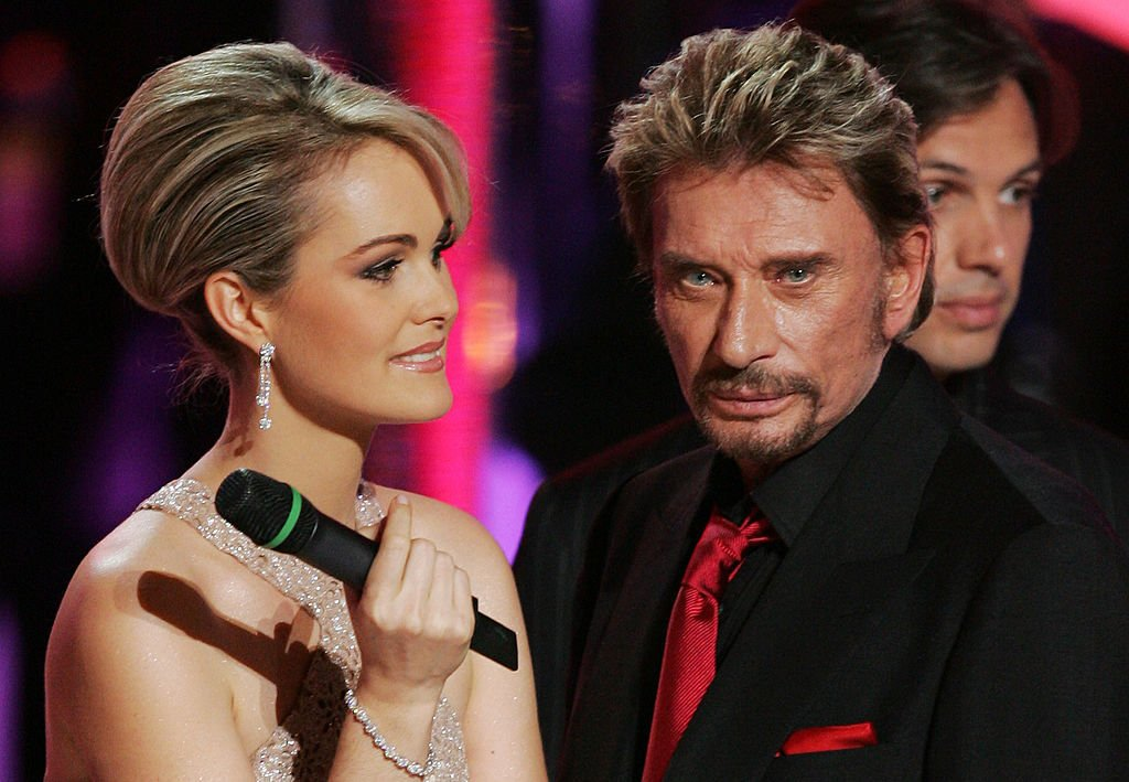 Johnny Hallyday et Laeticia Hallyday I Photo Getty Images