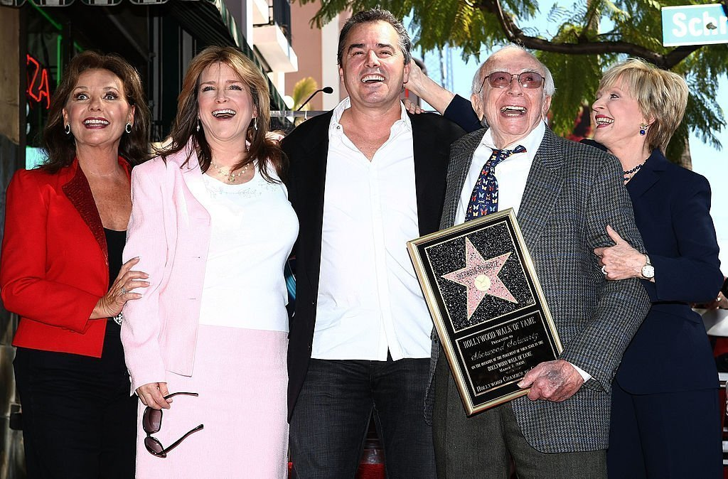 Sherwood Schwartz being honored with star on Hollywood Walk of Fame | Getty Images / Global Images Ukraine