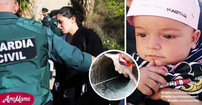 La mère de Julen, le garçon espagnol pris au piège dans le puits, parle encore a son autre enfant décédé avant