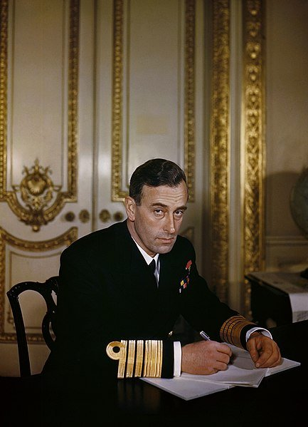 Admiral Lord Louis Mountbatten, 1943. | Source: Wikimedia Commons