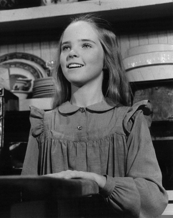 """Melissa Sue Anderson as Mary Ingalls on the television series """"Little House on the Prairie"""" 
