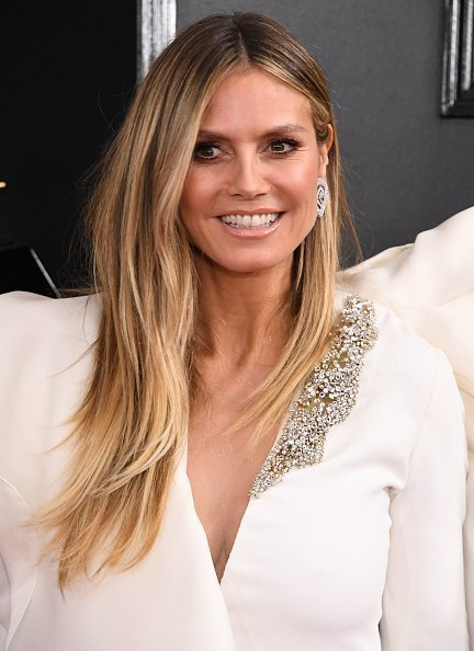 Heidi Klum, 61st Annual GRAMMY Awards in Los Angeles | Quelle: Getty Images