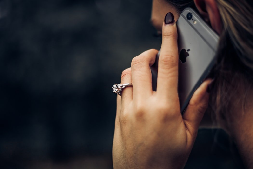 I heard her talking on the phone and found out the truth   Source: Unsplash