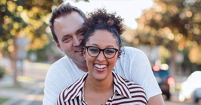 Tamera Mowry's Husband Adam Housley Teaches Daughter How to Build