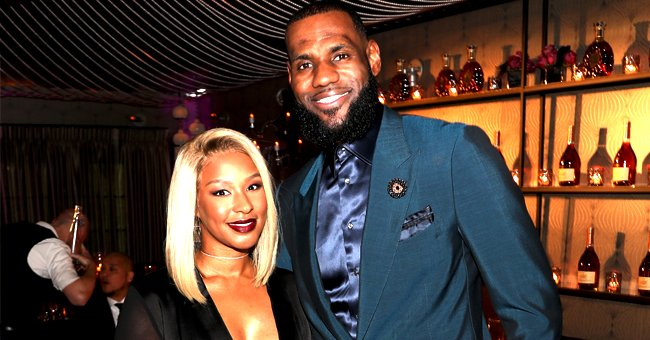 LeBron James Celebrates His 35th Birthday with Wife Savannah at Strip Club