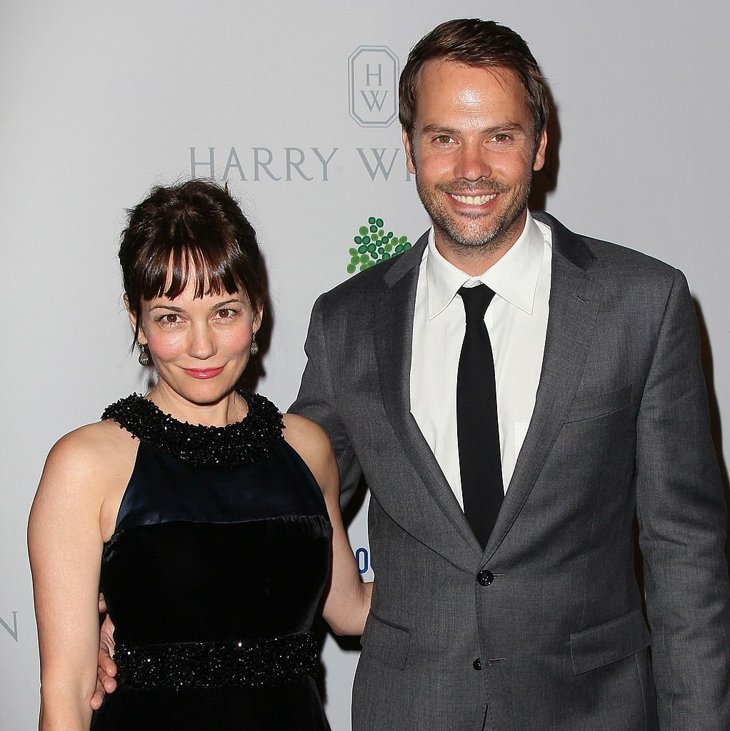 Actors Natasha Gregson Wagner (L) and Barry Watson attend the 1st Annual Baby2Baby Gala    Photo: David Livingston/Getty Images