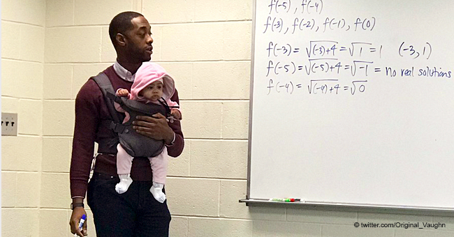 Student Brought His Child to Class Because He had No Babysitter, but His Professor Lent a Hand