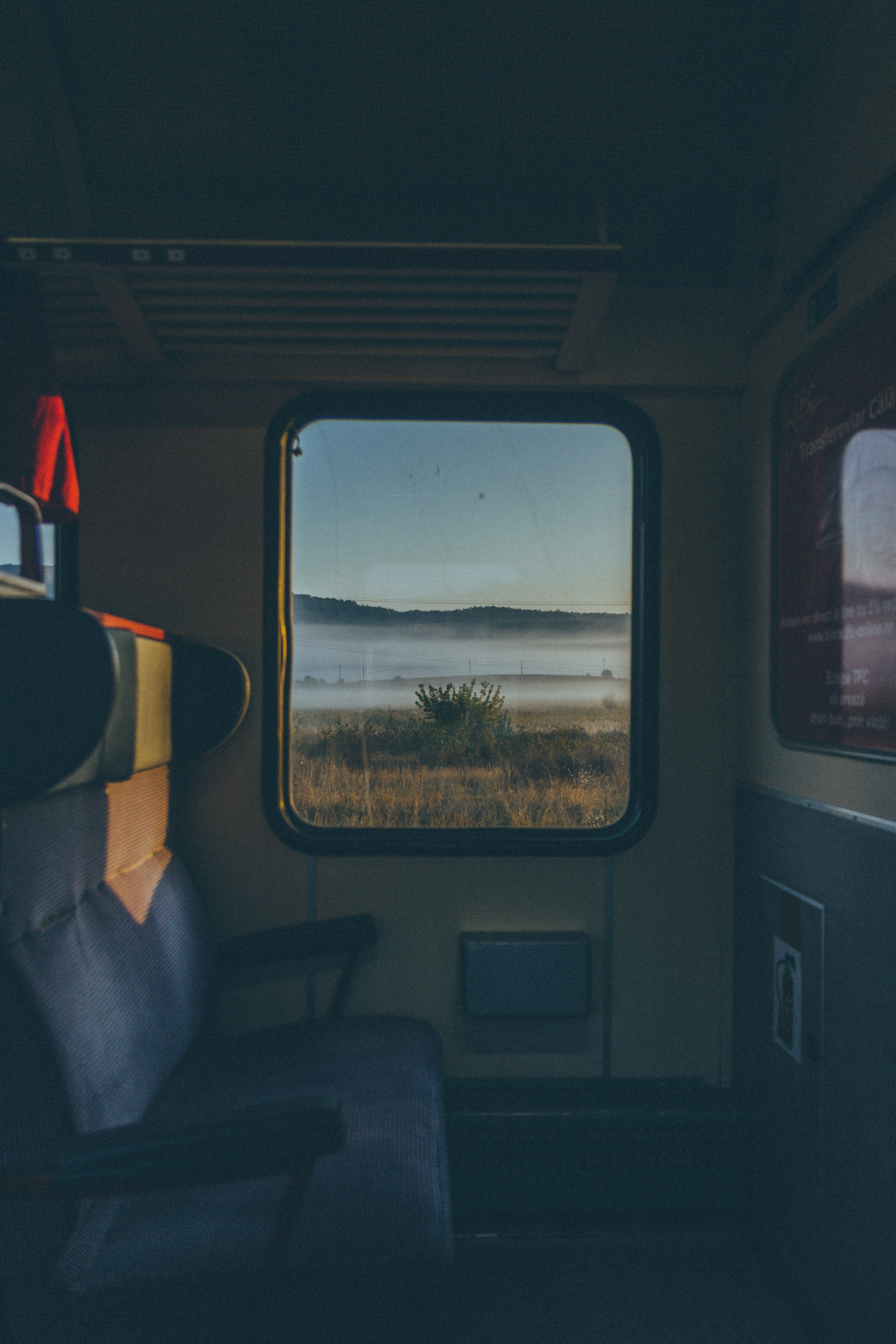 The view of inside a train | Photo: Pexels