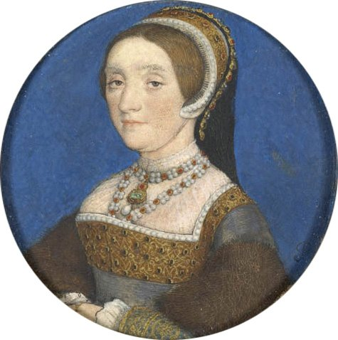 Hans Holbein The Younger - 1540 miniature of Catherine Howard | Public Domain