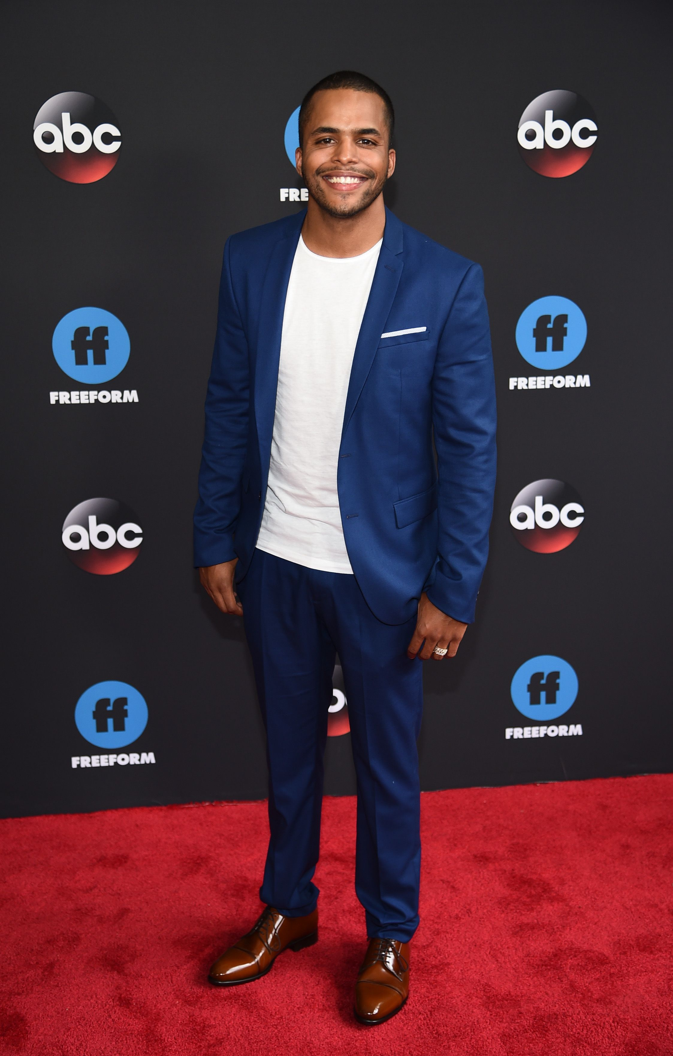 Chris Warren Jr. at the 2018 Disney, ABC, Freeform Upfront in 2018 in New York City | Source: Getty Images