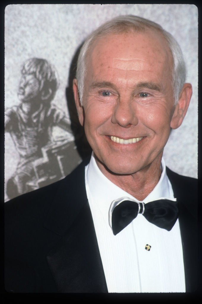 Johnny Carson at the American Teacher Awards December 6, 1992 | Photo: GettyImages