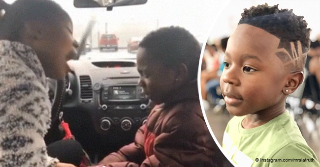 Mother's heartwarming response to son's complex about his black skin goes viral
