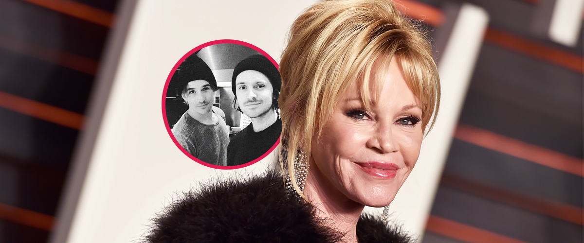Melanie Griffith Honors Her Two Grownup Sons with a Sweet Photo