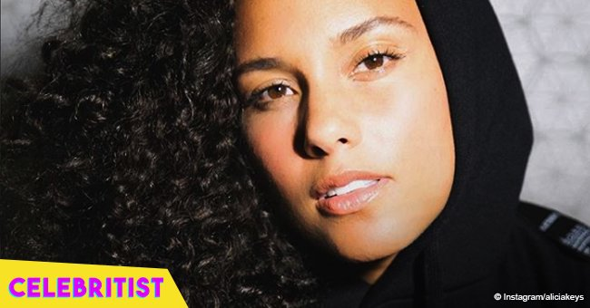 Alicia Keys shares photo of 3-year-old son learning to ride his bike