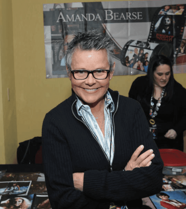 Amanda Bearse makes an appearance at the 2018 New Jersey Horror Con & Film Festival at Renaissance Woodbridge Hotel, on March 2, 2018, in Iselin, New Jersey | Source: Bobby Bank/Getty Images