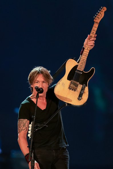 Keith Urban at Mercedes-Benz Stadium on November 15, 2019 in Atlanta, Georgia. | Photo: Getty Images