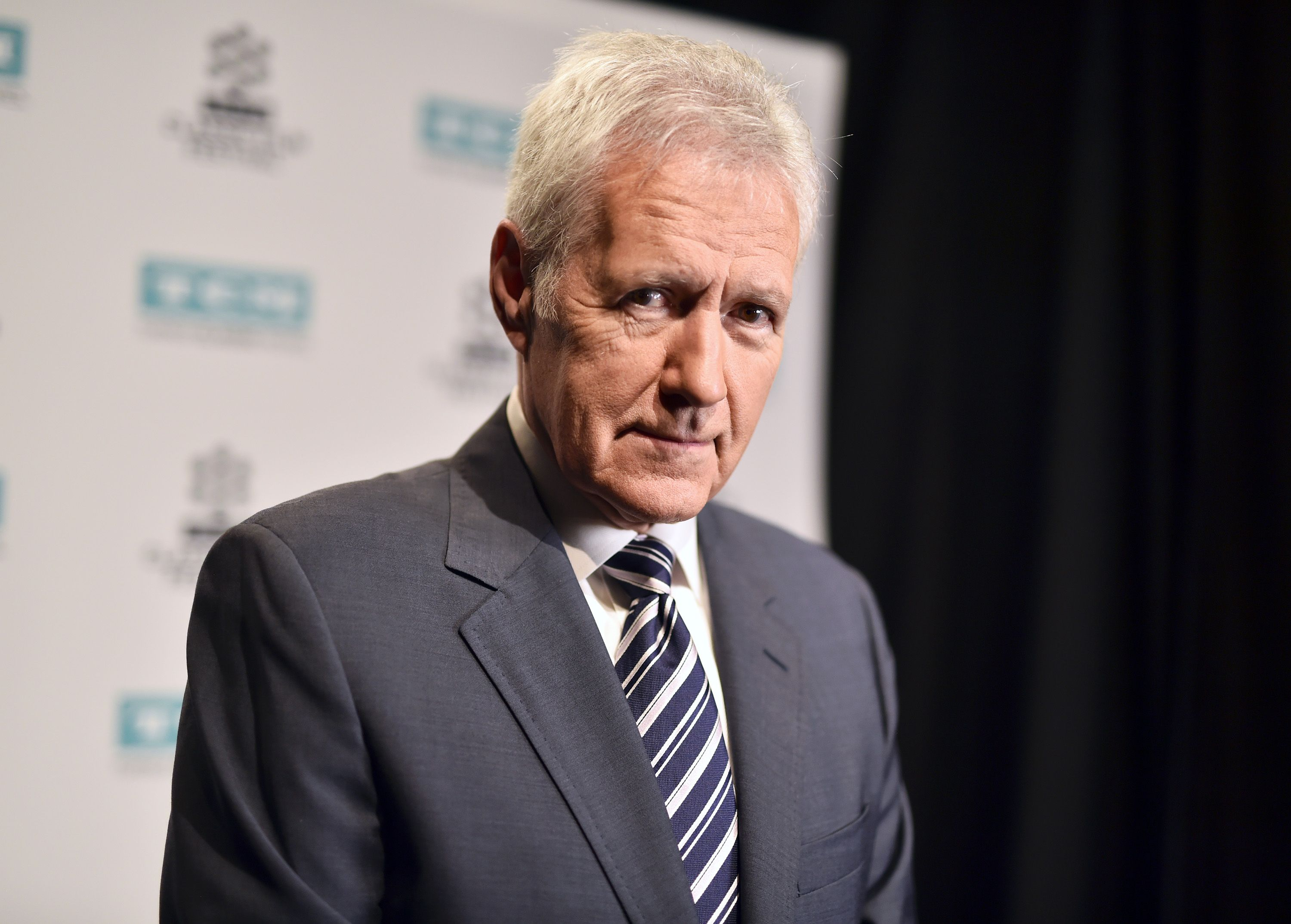 TV personality Alex Trebek at the screening of 'The Bridge on The River Kwai' during the 2017 TCM Classic Film Festival on April 7, 2017 | Photo: Getty Images