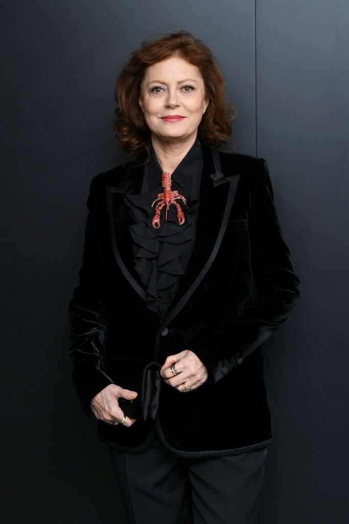 "Susan Sarandon attends the Saint Laurent Presents ""Belle De Jour"" 50th Anniversary Screening at Museum of Modern Art on December 19, 2018 in New York City 