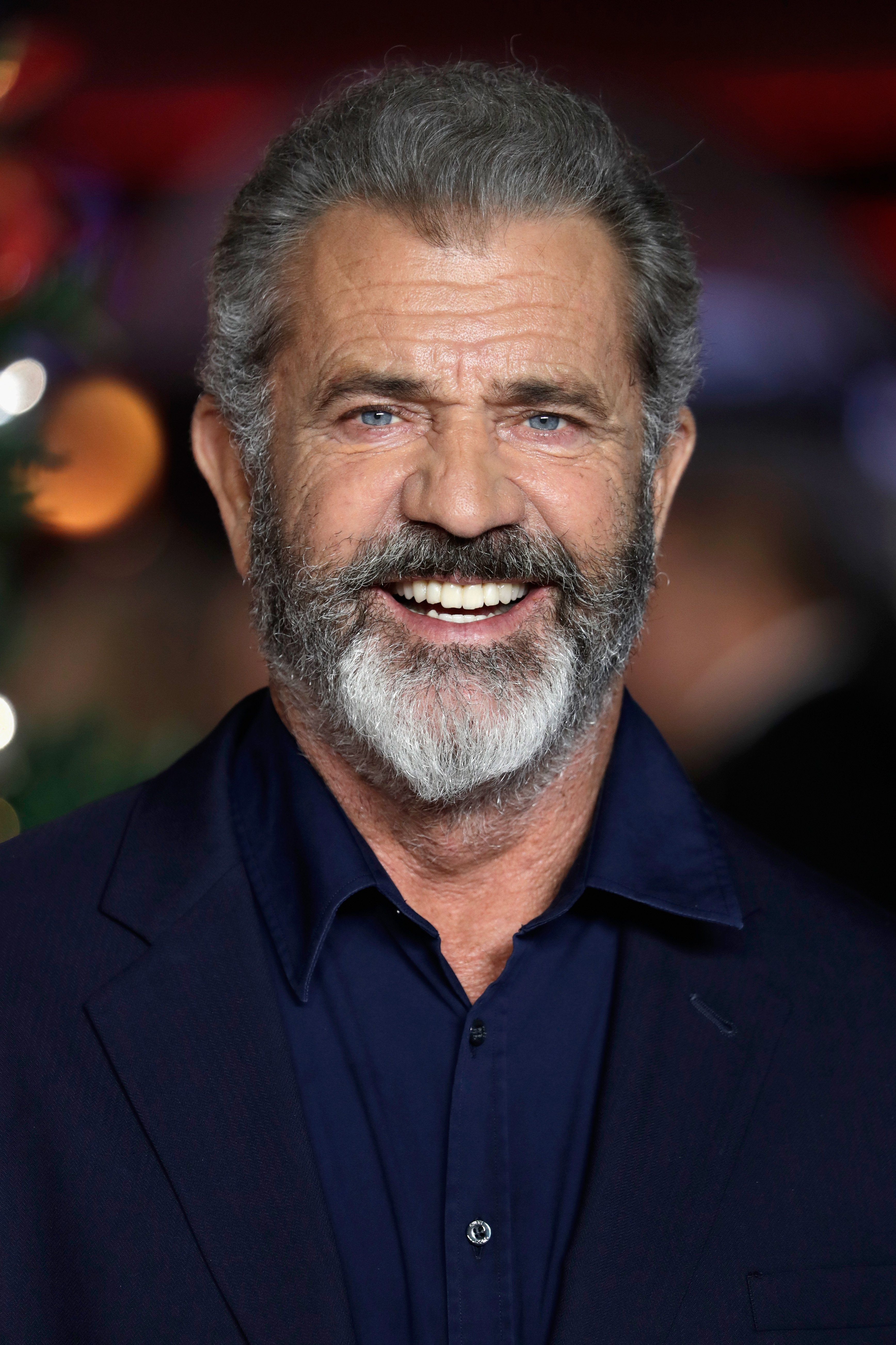 Mel Gibson arrives at the UK Premiere of 'Daddy's Home 2' at Vue West End on November 16, 2017, in London, England. | Source: Getty Images.