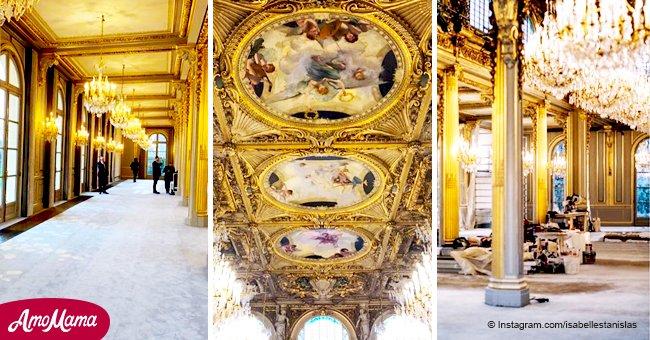 Palais de l'Elysée : 500 000 euros de rénovation, enfin montrée au public