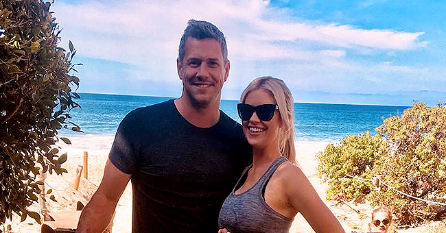 Christina Anstead of 'Flip or Flop' New Pic of 1-Month-Old Son Hudson Wrapped in a Blanket