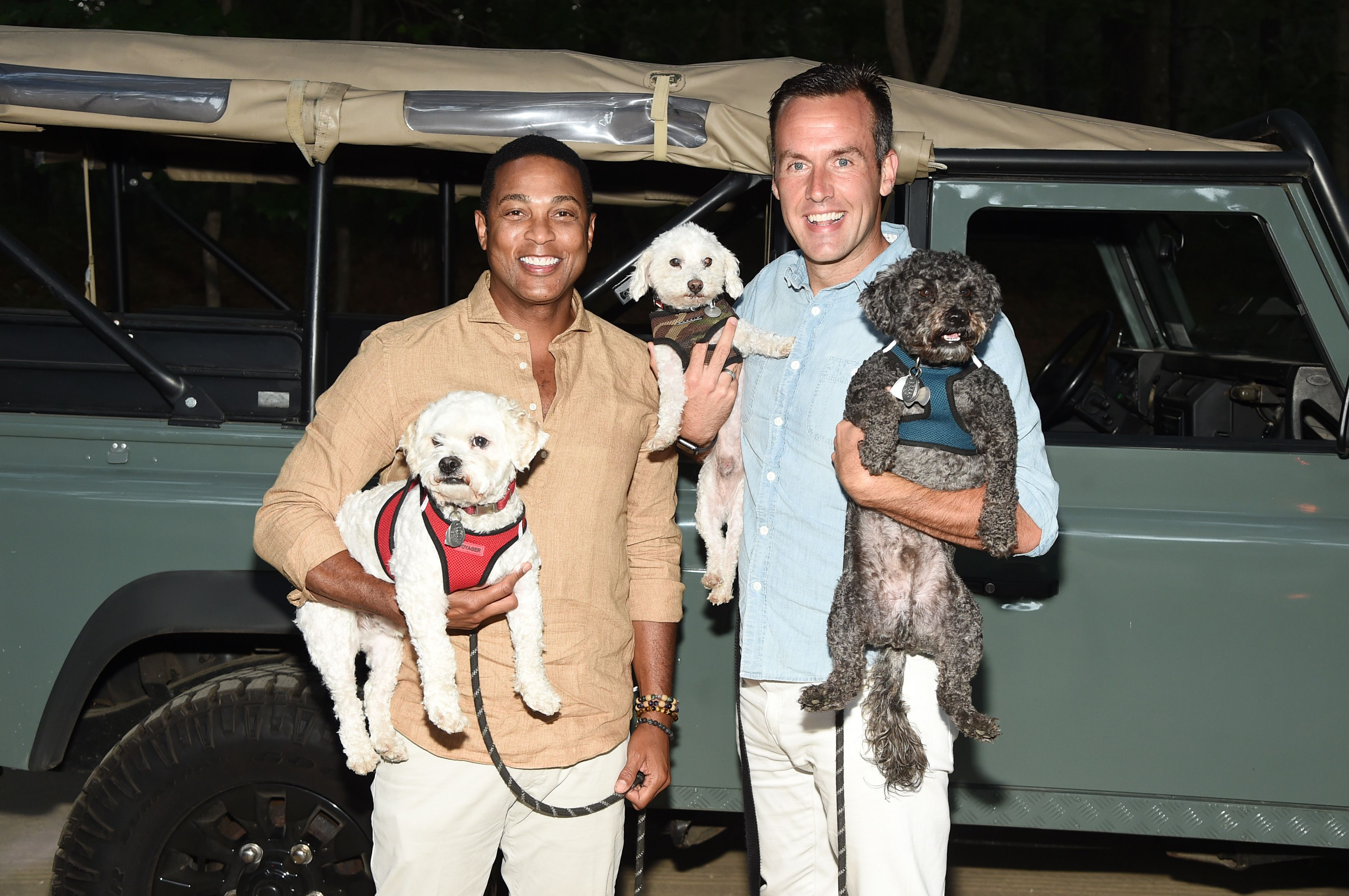 """Don Lemon and Tim Malone attend the Hamptons premiere of """"POWER BOOK II: GHOST"""" September 2020
