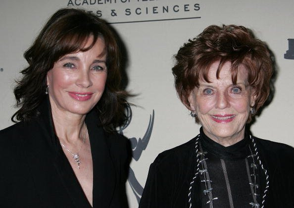 Anne Archer and Marjorie Lord at the Academy of Television Arts & Sciences on May 6, 2008 in North Hollywood, California | Photo: Getty Images