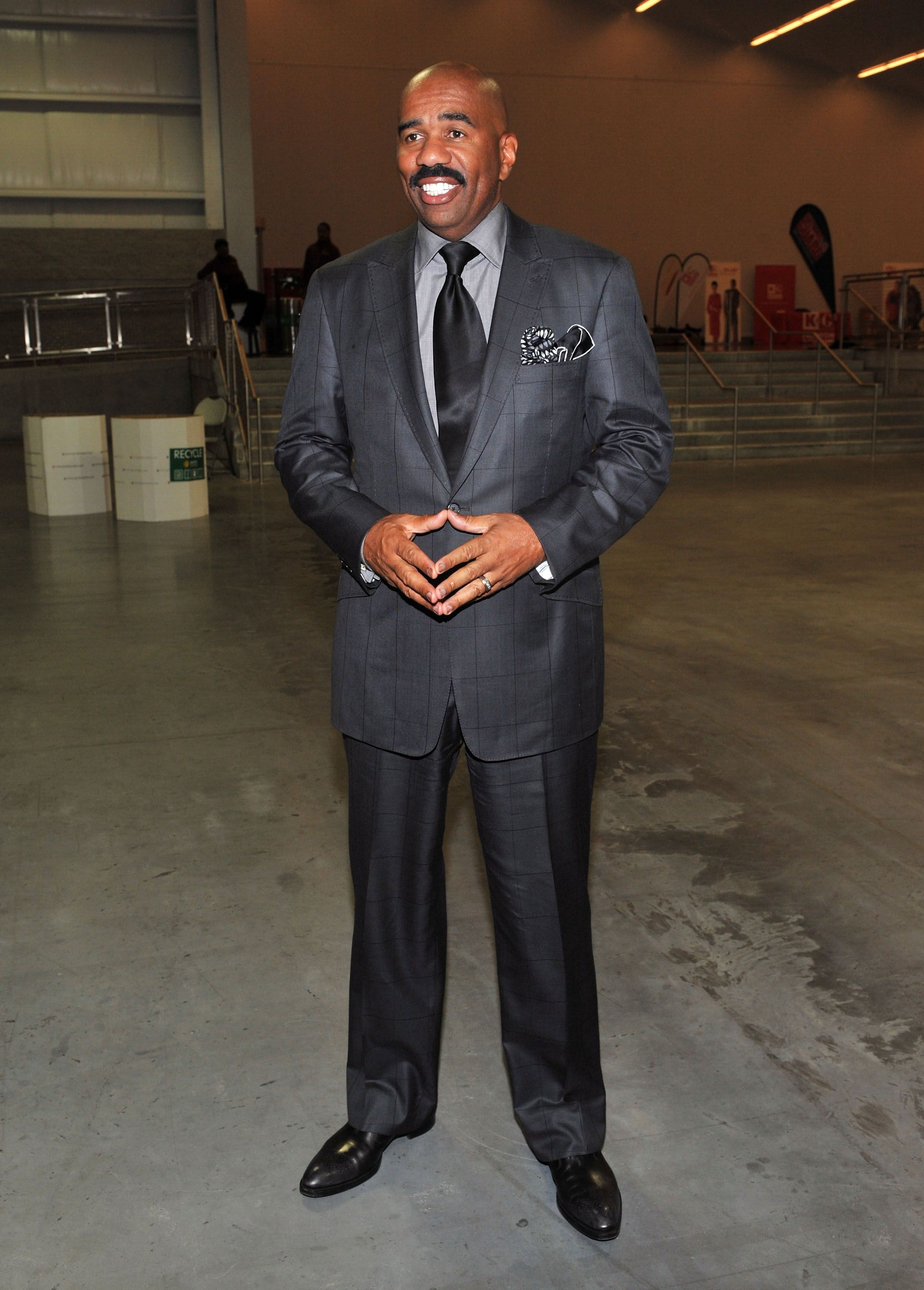 Steve Harvey at the 2011 Steve Harvey Mentoring Weekend on October 7, 2011 in New York.   Photo: Getty Images