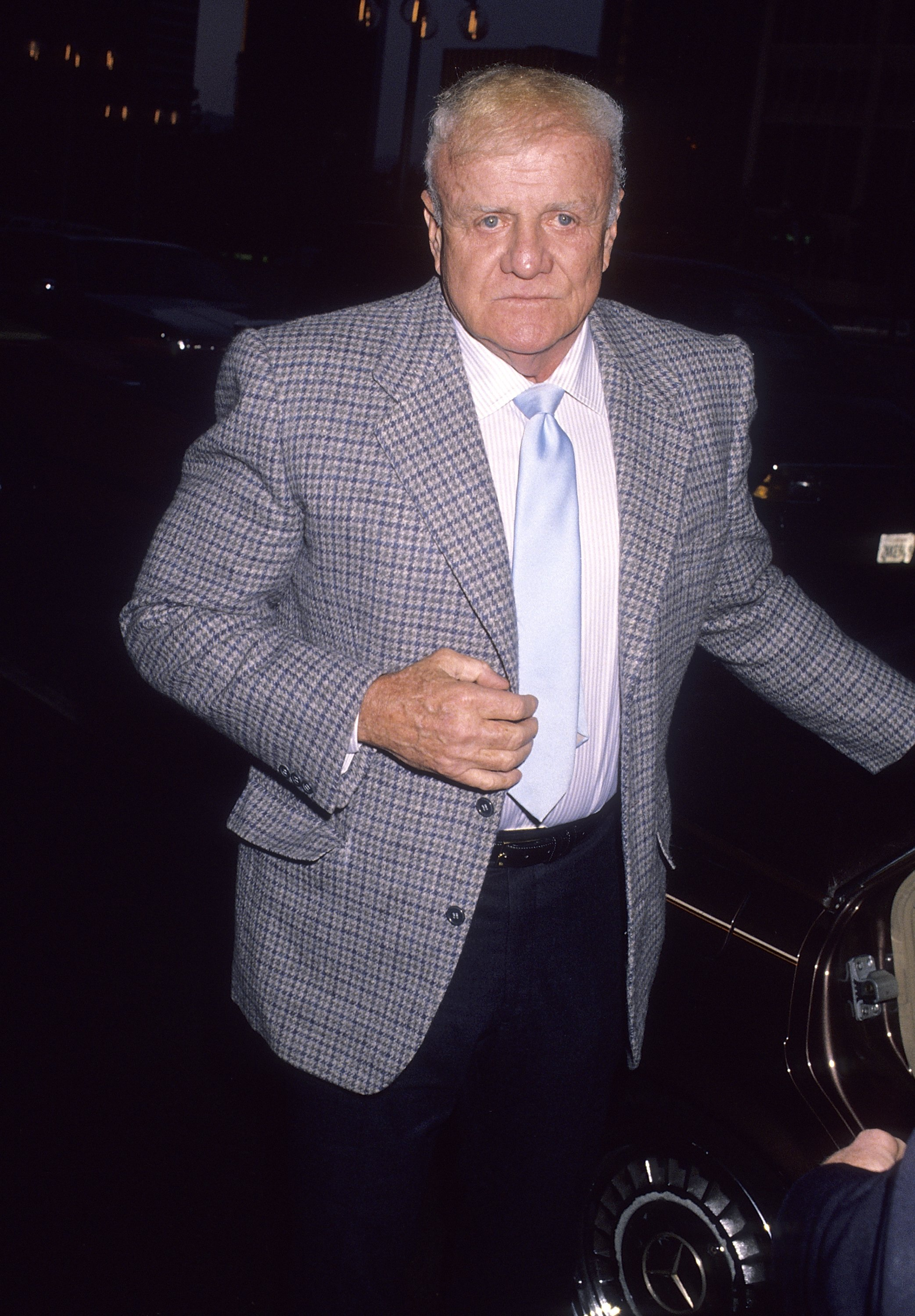 Brian Keith attends the Phoenix House Benefit Luncheon on April 20, 1990, in Century City, California. | Source: Getty Images.
