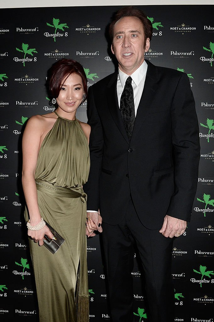 Alice Kim and actor Nicolas Cage attend 'Bungalow 8 Pop Up at theVenice Film Festival' during the 70th Venice International Film Festival at Palazzina G  | Getty Images